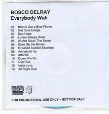 (CC831) Bosco Belray, Everybody Wah - DJ CD