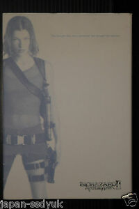 Resident Evil Biohazard II Apocalypse Decoding File OOP 2005 Japan guide book