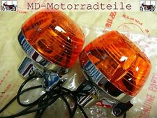 Honda CB 750 Four K0 K1 K2 Blinker Set ( US ) hinten Winker Assy.,  Set rear