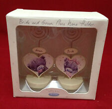 ME TO YOU BEAR TATTY TEDDY SOFTLY WEDDING DAY BRIDE AND GROOM NAME PLACE HOLDER