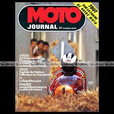 MOTO JOURNAL N°183 24 HEURES DE LIEGE GERARD DEBROCK JEAN-CLAUDE CHEMARIN '74
