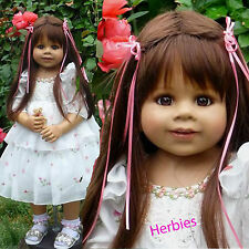 Masterpiece Dolls, Happy Birthday Kate Brunette, Blue Eyes,Monika Levenig, Vinyl