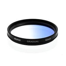 Albinar 52mm Blue Graduated Gradual Color Filter