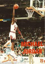 Postcard: Michael Jordan In Action (Chicago Bulls Basketball) (1995)