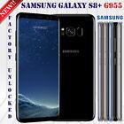"Samsung Galaxy S8+ G955U (FACTORY UNLOCKED) 6.2"" (64GB) Black Gold Gray New OE"