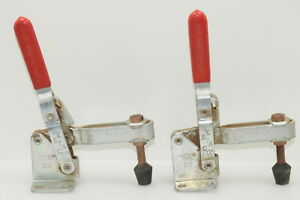 Pair of DE-STA-CO No. 210 U Vertical Toggle Clamps (INV I078)