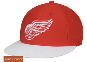 Detroit Red Wings adidas Basic Two-Tone Fitted Hat - Red