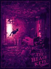 The Black Keys Boston 2019 by Daniel Danger SIGNED Print Poster Art MINT Gig TD