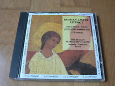 Russian Easter Liturgy - Russian Patriarchate Choir, Grindenko - CD opus 111