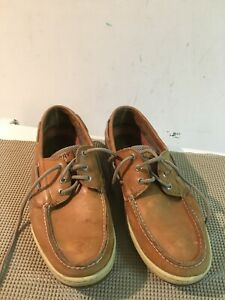 Sperry Top- sider leather upper shoes size 12 M