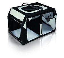 Trixie Transporting Box Vario Double, 91×60×61 / 57 Cm, Black/Grey
