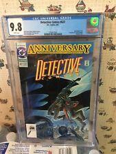 Detective Comics #627 CGC 9.8 (1991, DC)..80 PG ANNIV ISSUE..BATMAN 600TH APP