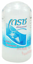 Grace Crystal Alum Rock Deo Natural Deodorant Roll On Stick Antiperspirant 70g.