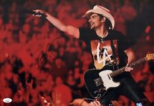 BRAD PAISLEY Signed COUNTRY SINGER 12x18 Photo IN PERSON Autograph JSA COA