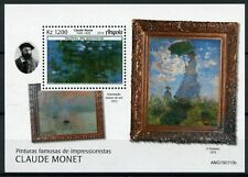Angola Art Stamps 2019 MNH Impressionism Paintings Claude Monet 1v M/S