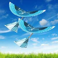DIY Small Powered Flapping Wings Bird Toys Flying Bird Outdoor Kids Toy