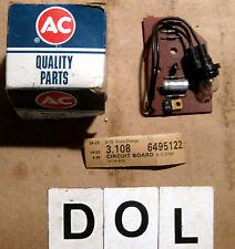 1974 Oldsmobile Low Fuel Circuit Board ~ GM Part # 6495122