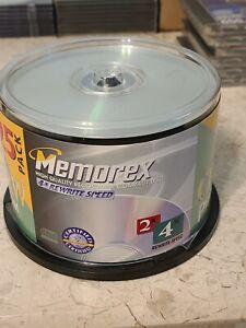 Memorex CD-RW Platinum 25 Pack 4x Rewritable Speed 650 Mb / 74 Minutes