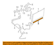 FORD OEM A/C AC Condenser/Compressor/Line-Lower Seal 5F9Z19E572BA