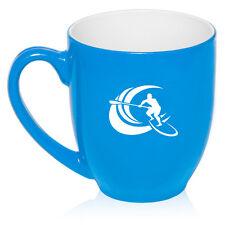16oz Bistro Mug Ceramic Coffee Glass Tea Cup Stand Up Paddle Board Surf