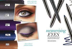 Avon Glimmerstick Twist up eyeliner Waterproof 8 Shades Black Brown Grey Blue