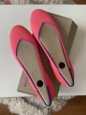 Rothy's BNIB Tropical Pink Flats Size 7