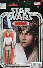 Star Wars Vol 4 #1 Variant Star Wars Action Figure Cover Luke Skywalker Marvel