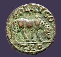 Archaios | Roman Provincial Gallienus Alexandria Troas Horse Grazing | Inv35.1