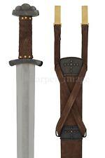 Godfred Gudfred Viking Sword by Hanwei Forge Folded Steel Handmade Superb! Sharp