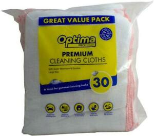 Optima Proclean Premium Cleaning Cloths Pack of 30
