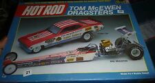 REVELL TOM MONGOOSE McEWEN NHRA DRAGSTERS FUNNY CAR SET 1/25 Model Car Mountain