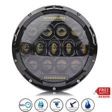 7inch PHILIPS 75W H4 Headlight Hi/LO DRL LED Lamp for Jeep Wrangler JK Hummer