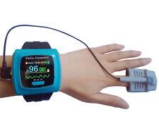 CE FDA wrist Pulse Oximeter, Spo2 Monitor,OLED USB+SW,Daily, Overnight,Sleep,50F