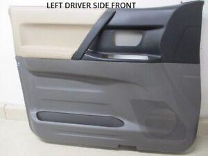 01 02 03 Mitsubishi Montero Left LH Front Door Trim Panel OEM MR621831