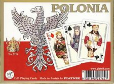Polonia Playing Cards Amazing Double Deck by Piatnik New