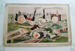 Original 1940's Baynard Press Ltd for Schools Prints Lithograph M. Rothenstein