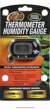 Zoo med reptile digital thermometer Hygrometer Combo