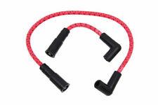 Sumax Red & Black Cloth Spark Plug Ignition Wire Set 99-17 Harley Softail Dyna