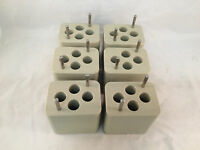 Beckman Adapters for Bucket Rotors - 4 Place - Lot of 6