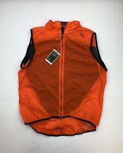 Giro Chrono Wind Vest Orange Men's XL New