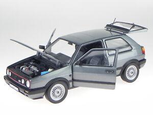 VW Golf 2 GTI 1990 gris metallic coche en miniatura 188442 Norev 1:18