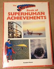 Superman Book Of Superhuman Achievements 1981 Random House DC
