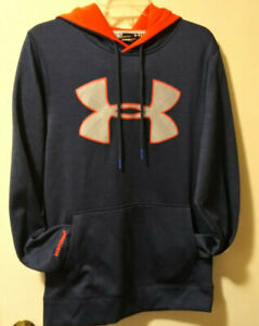 Youth Under Armor Loose/Coupe Pull Over Hoodie/ Small