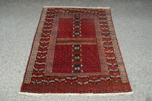Alter Orientteppich. Turkmene. Tekke Engsi. Ca 168 x 110.