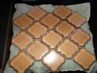 Steinzeug Mosaik Fliesen Florentiner Alte Fliesen - 5 Matten