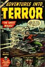 Adventures Into Terror 23 Comic Book Cover Art Giclee Reproduction on Canvas