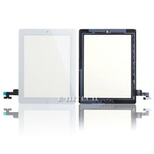 iPad 2 Digitizer Touch Screen Glass pad with Home Button A1395 A1396 A1397 White