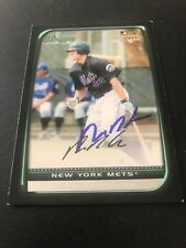 Nick Evans New York Mets Autographed Card Pirates
