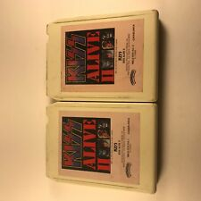 Kiss ‎– Alive II VG 2x8-Track Cartridge Tape Casablanca NBL-87076