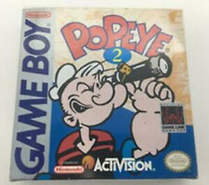 Popeye 2 - Authentic Game Boy Manual